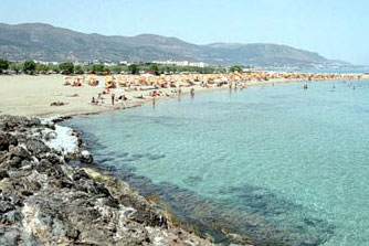 Kreta Malia zee