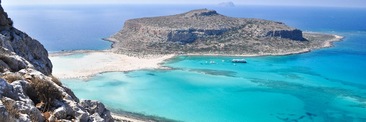 Balos beach is een van de mooiste stranden van Kreta.