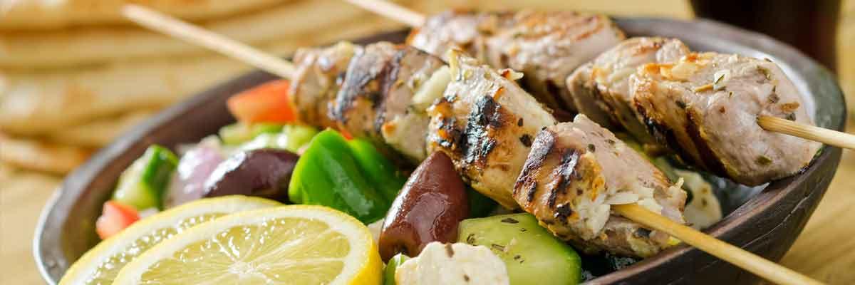 Heerlijke Griekse recepten zoals Souvlaki zijn absolute aanraders