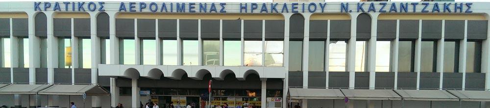 Vliegveld Heraklion Kreta