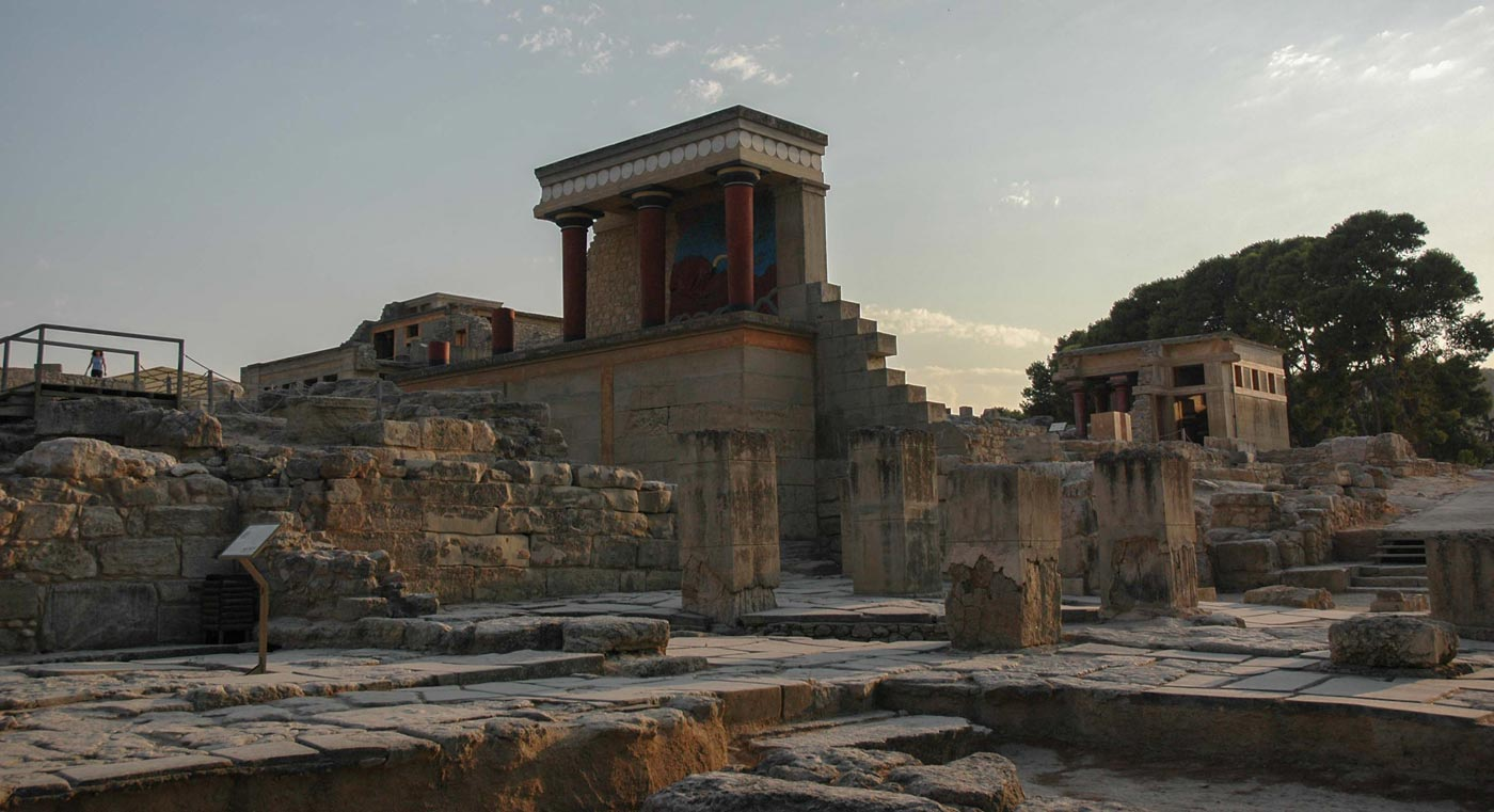 Paleis van Knossos op Kreta