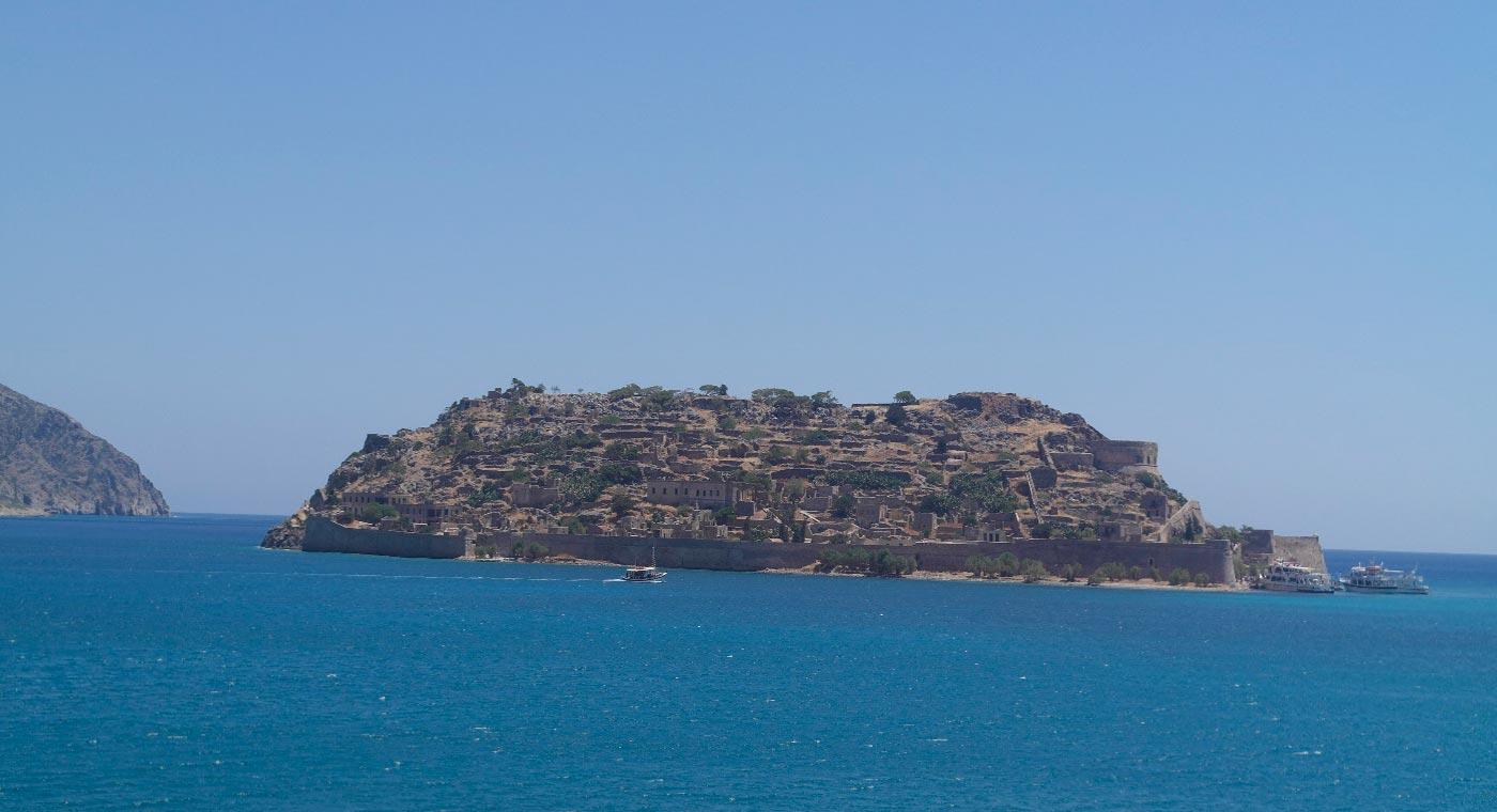 Spinalonga lepra eiland Kreta