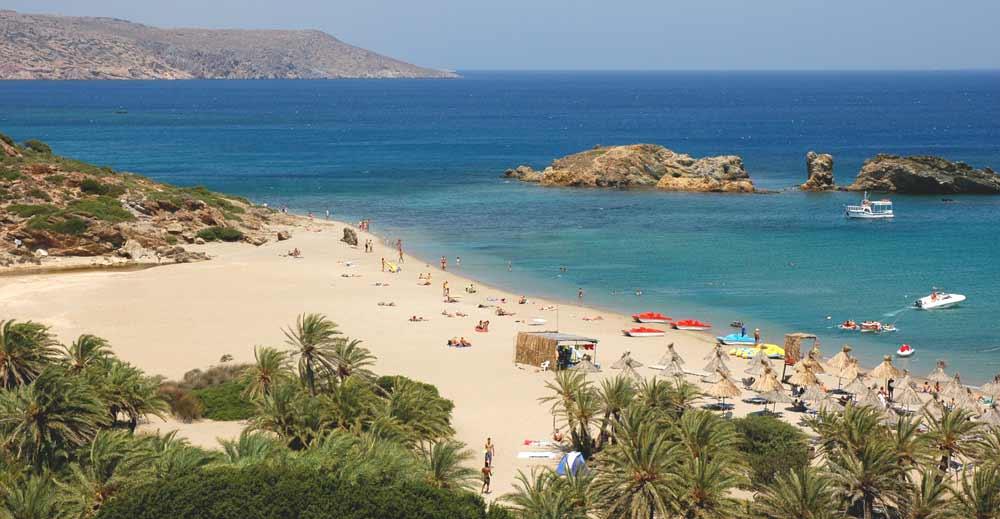 Vai palmenstrand Kreta