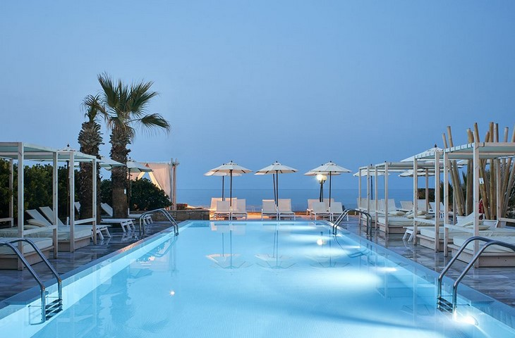 Hotel The Island is een adults only hotel op Kreta