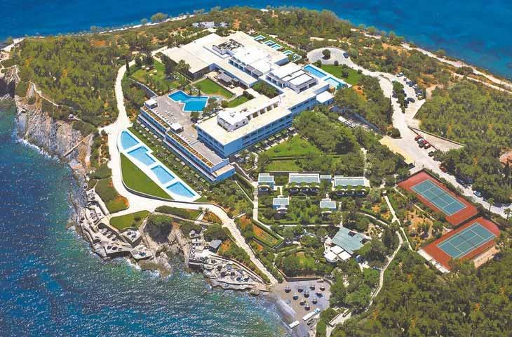 Adult only vakantie Sensimar Minos Palace hotel in Agios Nikolaos