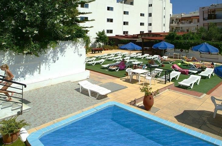 All inclusive Kreta vakantie in Hotel Sergios in Chersonissos
