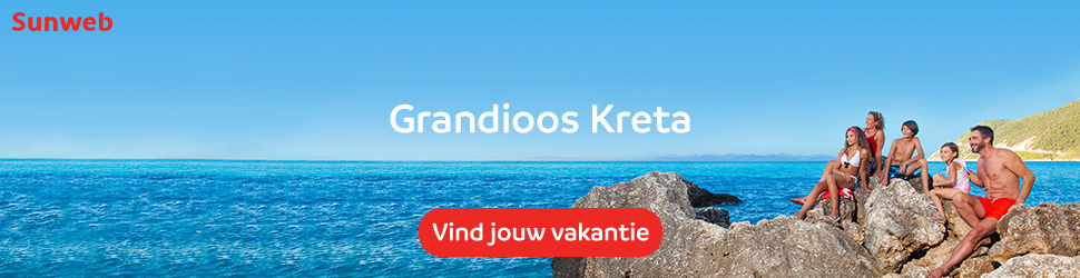 Sunweb last minute vakanties naar Kreta