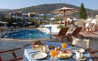 Appartementen Arlekin Tango op Kreta