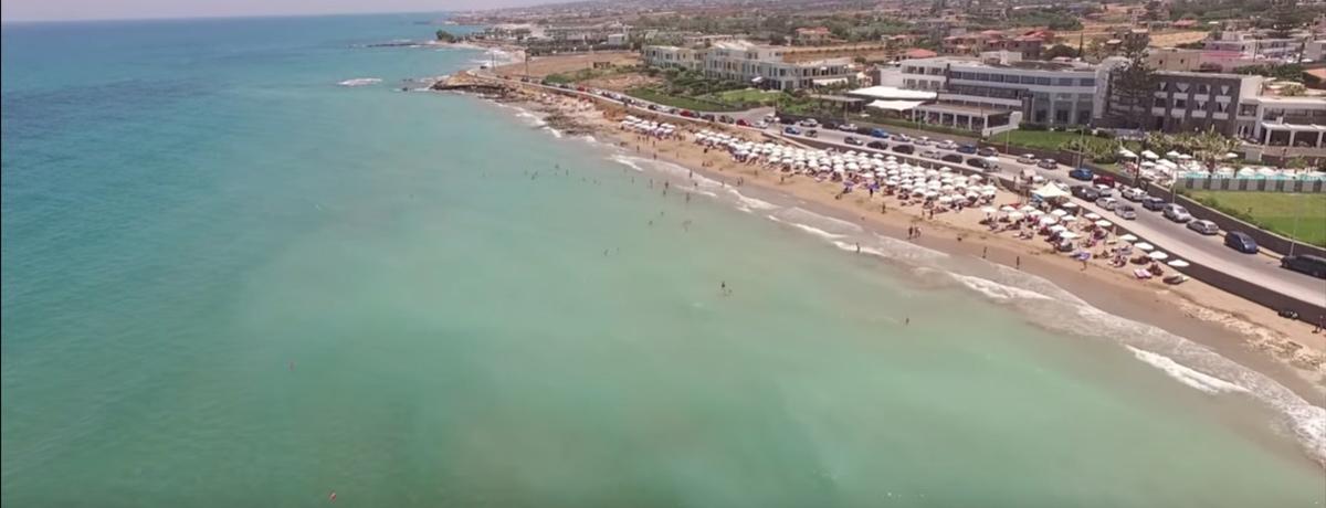 Gouves is een gezellige badplaats op Kreta