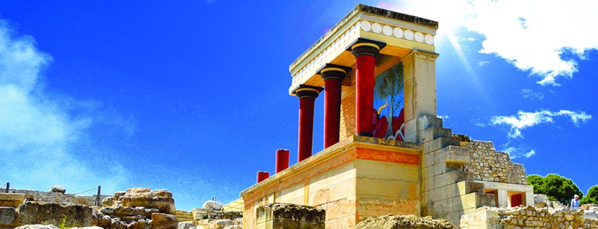 Knossos is een bijzonder stukje van de geschiedenis van Kreta