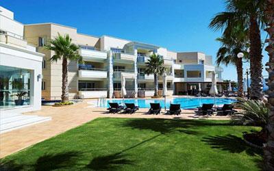 Molos Bay Hotel in Kissamos op Kreta