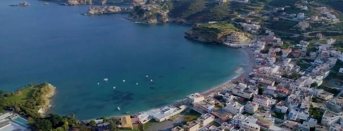 Agia Pelagia is een gezellige plaats op Kreta