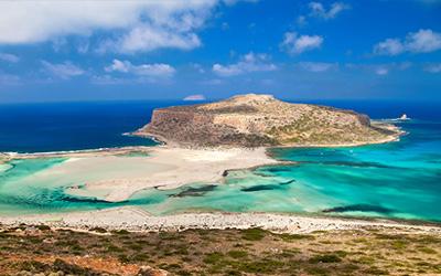 Vakantie Kreta - Balos Beach is een prachtig strand op Kreta in Griekenland